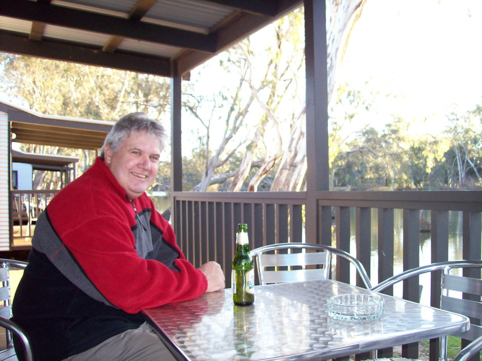 relaxing at Sons of Subury choral workshop 2009